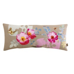 Coussin velours long Rosa