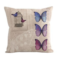 Coussin carré Harmonies Butterfly