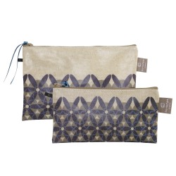 Set of 2 clutches 1001 nuits