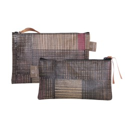 Set of 2 clutches Partition