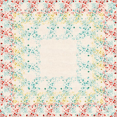 Square tablecloth Muralis