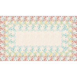 Rectangular tablecloth 250 cm Muralis