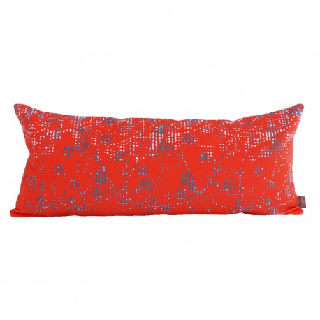 Coussin velours long Muralis