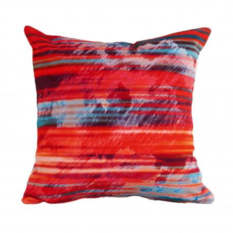 Velvet cushion Aurore