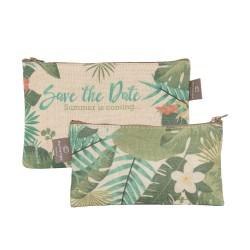 Lot de 2 pochettes plates Jungle