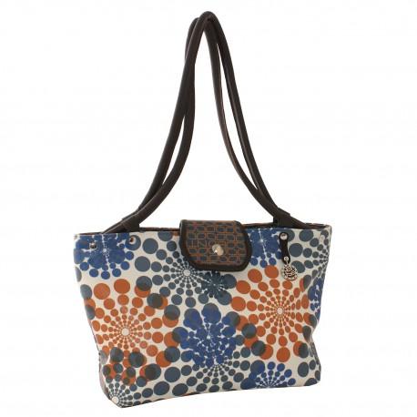 Shopping Blue-Rosace - simili