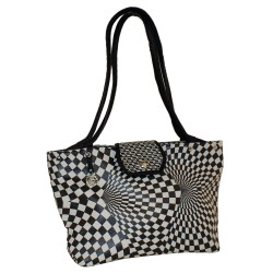 Shopping Damier - simili