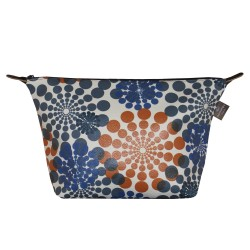 Trousse de toilette Blue Rosace - Simili