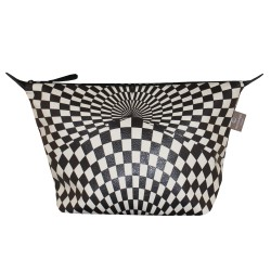 Trousse de toilette Damier - Simili