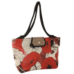 Shopping Coquelicot - simili