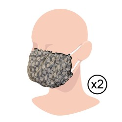 Lot de 2 Masques Lin