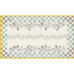 Rectangular tablecloth 250 cm Panache