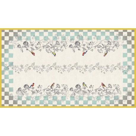 Rectangular tablecloth 250 cm Panache