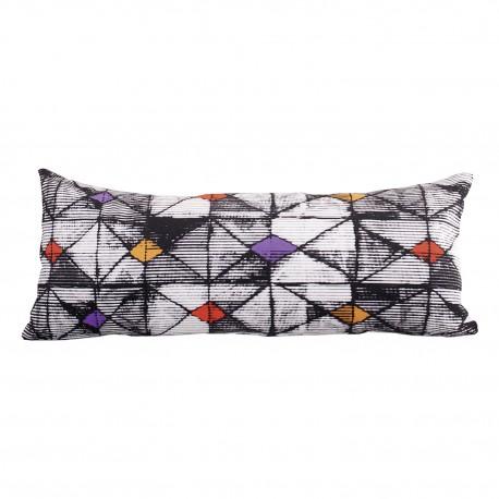 rectangular Velvet cushion Origami