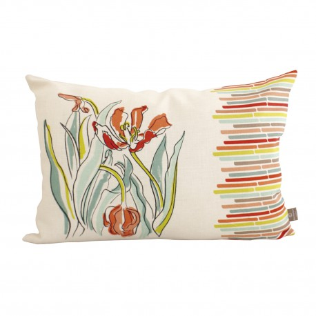 Coussin rect. lin naturel Avril
