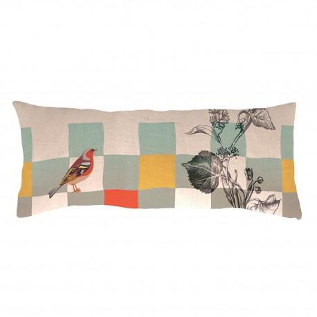 Rectangular linen cushion Panache