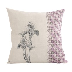Linen square cushion Imperia