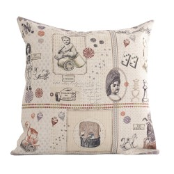 Linen square cushion Jouets