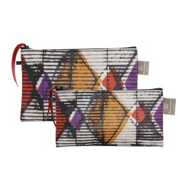 Set of 2 clutches Origami