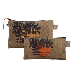 Set of 2 clutches Zagora
