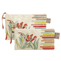 Set of 2 clutches Avril