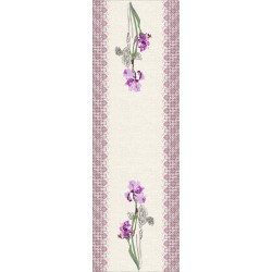 Table runner Iris